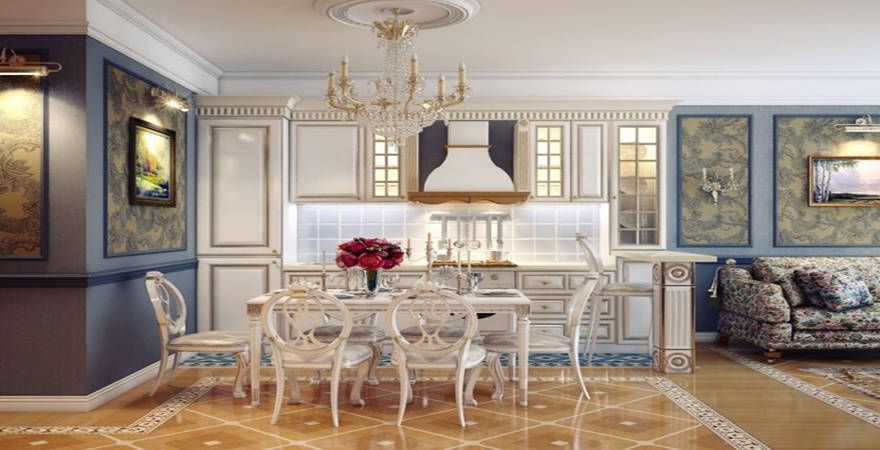 spacious-awesome-best-style-kitchen-dining-room-design